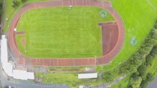 Final repairs on the Sheepmount stadium set to begin