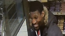 Essex police investigating an arson attack have released a CCTV image of a man they want to speak to.