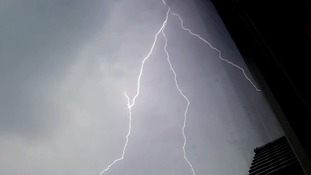 Severe lightning storms have caused disruption in parts of the Anglia region.