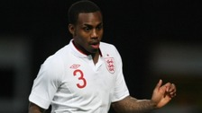 Danny Rose, seen above in a recent international, was targeted by abuse in Serbia.