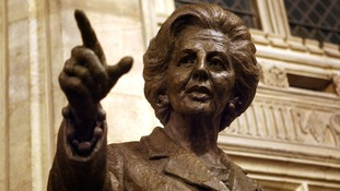 A bronze statue of Margaret Thatcher was unveiled in Parliament in 2007