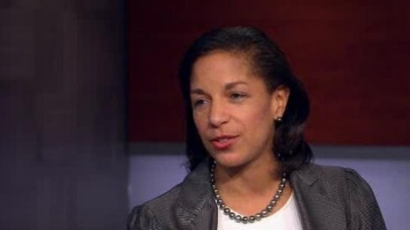 Susan Rice speaking to NBC's Brian Williams on Rock Center