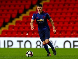 The 19-year-old has made just one senior appearance since moving to Old Trafford