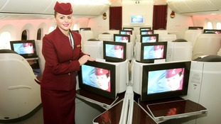 First look inside the Dreamliner after maiden UK flight