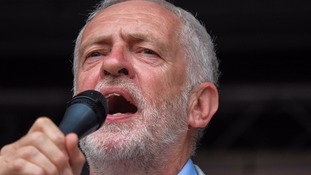 Interrupted Corbyn attacks Tory 'hypocrisy' as he says Grenfell fire is 'consequence' of austerity
