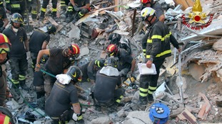 Eighth and final body pulled from rubble after building collapse