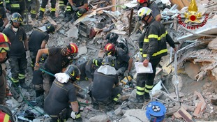 Eight people died in the tragic building collapse