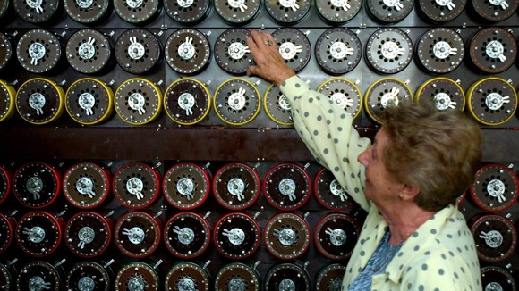Turing Bombe machines like this one cracked 3,000 enemy messages a day during the war