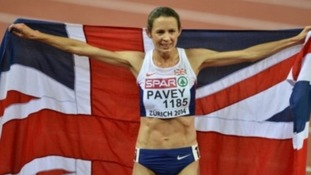 o Pavey won the 10,000 metres at the European Athletics Championships in 2015.