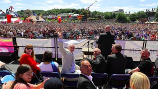 "Corbyn: Gala ""Europe's biggest demonstration of working class culture""."