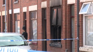 Distraught father smashed through windows in doomed attempt to save his family from house fire