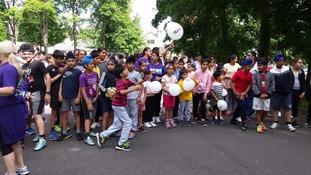 Lister Park in Bradford family fun run