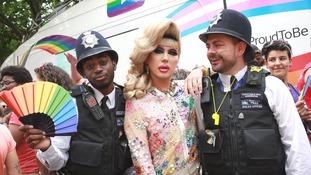 Pride event in London on Saturday