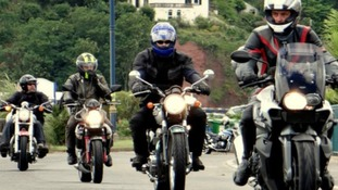1000 bikers 'ride out' for Devon Air Ambulance
