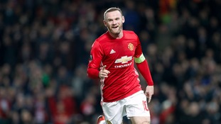 Rooney leaves United: The stats