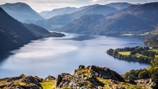 View of Ullswater from Gowbarrow Park. The photo was included in the Lake District's bid for World Heritage Status.