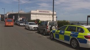 The collision took place on Saturday morning on South Marine Drive