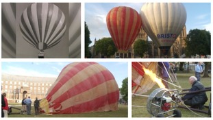 The Bristol Belle balloon celebrates her 50th birthday