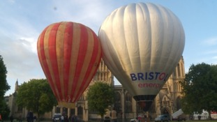 Bristol belle and solar balloon
