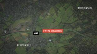 Man arrested after fatal motorway pile-up