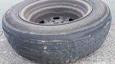 Worn tyre