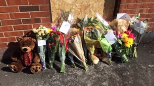 Funeral for mother and children killed in Bolton house fire