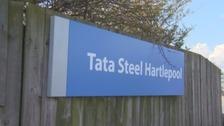 Tata Steel in Hartlepool