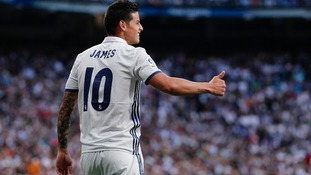 James Rodriguez signs for Bayern Munich on two-year loan from Real Madrid