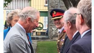 Prince of Wales visits Royal Welsh Regimental Museum in summer tour