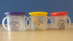 Around 3,000 'Healthy Teeth, Happy Smiles' cups cups have been recalled