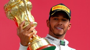 Lewis Hamilton, winner of last year's British Grand Prix