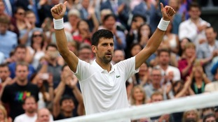 Djokovic sets up Wimbledon quarter-final against Berdych with straight sets victory over Mannarino