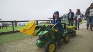 Rain fails to dampen spirits at Great Yorkshire show