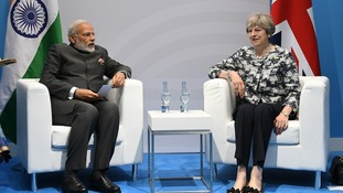 Theresa May raises 'Chennai Six' case with Indian PM