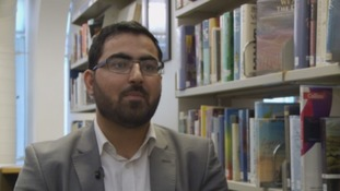 WATCH: Afghan author urges people to welcome refugees