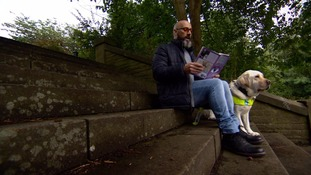 Poet Dave Steele says 'misconceptions' can leave disabled people isolated
