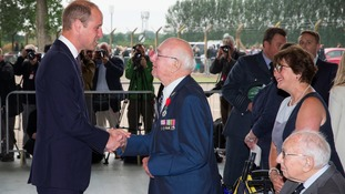 Prince William is Honorary Air Commandant of RAF Coninsgby