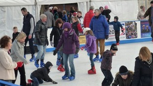 Birmingham's outdoor ice rink returns for Christmas