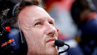 Horner isn't happy with Silverstone bosses.