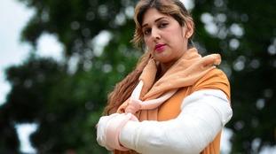 Mum injured as stranger goes on rampage in Quality Save