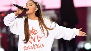 Ariana Grande 'moved' after being made honorary citizen of Manchester