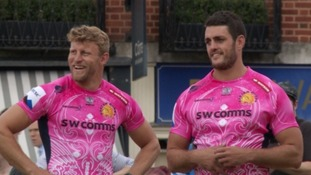 Exeter chiefs kit