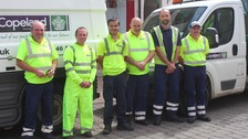 The 'clean-up blitz' is in addition to regular street cleaning services provided by Copeland Council
