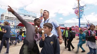 Southend day out for kids thanks to taxi drivers