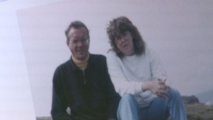 Sue Threakall with her husband Bob