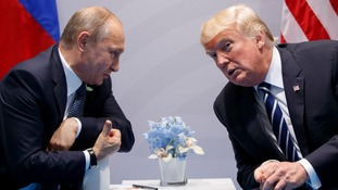 Trump on Putin: We get along very, very well