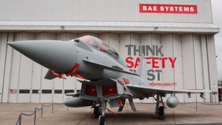 £40m investment for Typhoon jet improvements secures jobs at BAE Systems in Lancashire