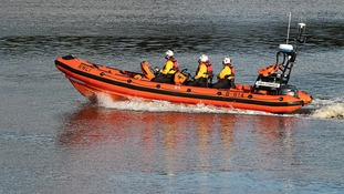 Kirkcudbright lifeboat was involved in the search