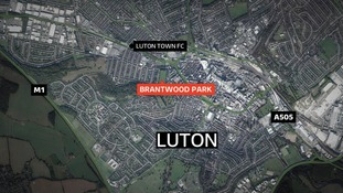 The stabbing on two men happened on Brantwood Park in Luton.