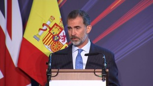King of Spain urges Brexit negotiators to keep 'uncertainty to a minimum'
